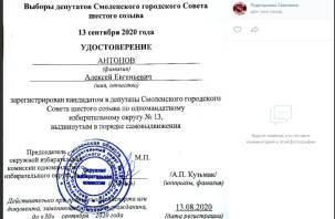 Кандидат в депутаты Смоленского горсовета смог «отбить» отказ в регистрации