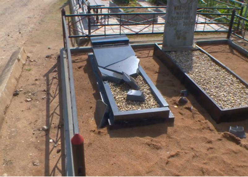 На крушителя могил в Рудне завели еще одно уголовное дело