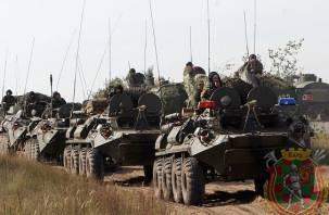 Белоруссия начала военные учения на границе