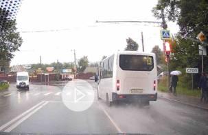 «Вопиющее поведение маршрутчика» в Смоленске попало на видео