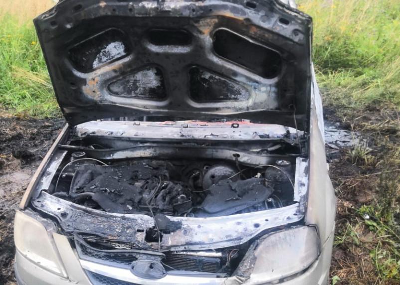 За сутки в Смоленской области сгорели три автомобиля