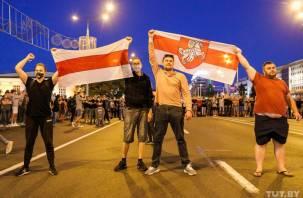 Бело-красный след в протестной Белоруссии