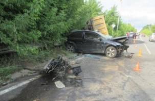 Подробности трагического ДТП в Смоленске с самосвалом и легковушкой