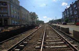 В Смоленске назвали сроки возобновления движения трамваев на Николаева