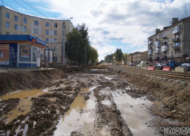 Ремонт улицы Николаева в Смоленске подорожал на 22,3 млн рублей