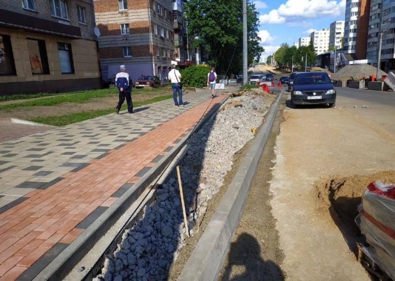В мэрии прокомментировали укладку плитки на тротуарах улицы Николаева