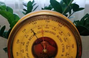 Рекордно высокое атмосферное давление ожидает москвичей