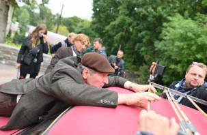 В Смоленске проходят съемки комедийного сериала с Федором Добронравовым