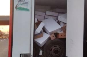 Смоленские таможенники задержали опасный груз из Беларуси