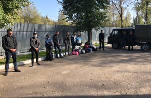 8 иностранцев пытались пересечь границу России со стороны Беларуси пешком