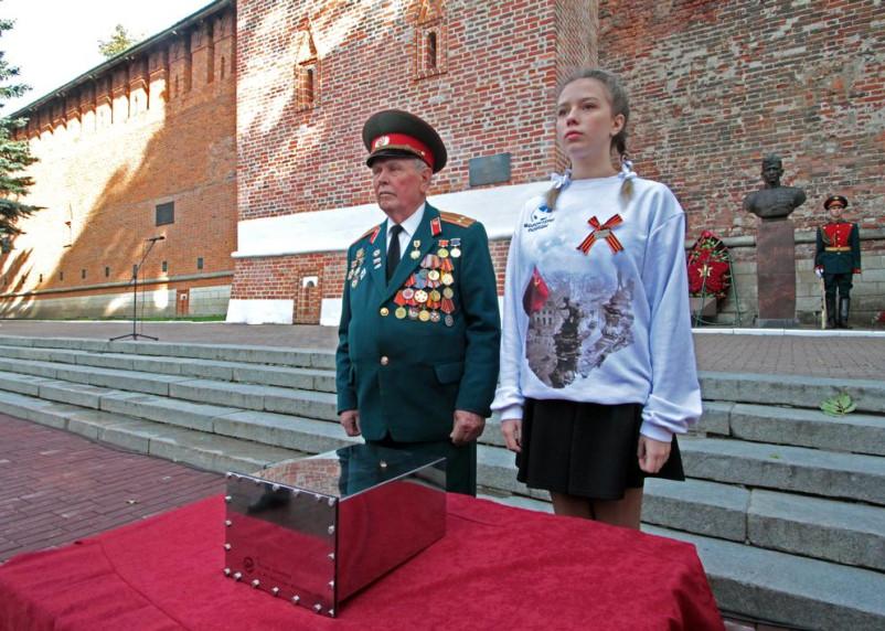 В Смоленске прошла закладка капсулы с посланием потомкам
