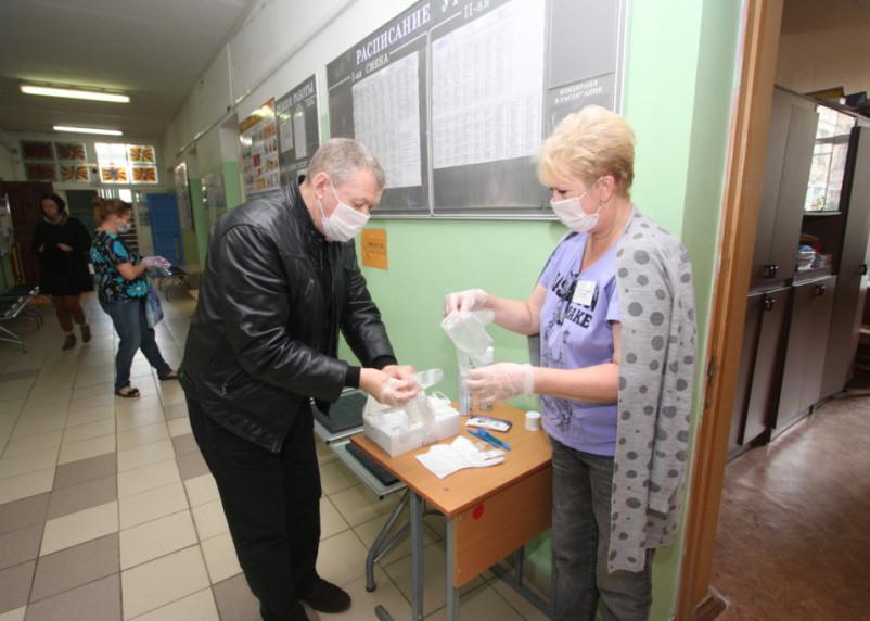 В Смоленске началось досрочное голосование на выборах губернатора