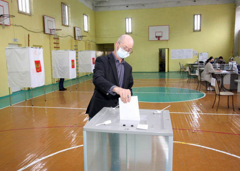 Районы Смоленской области с самой худшей явкой на выборы