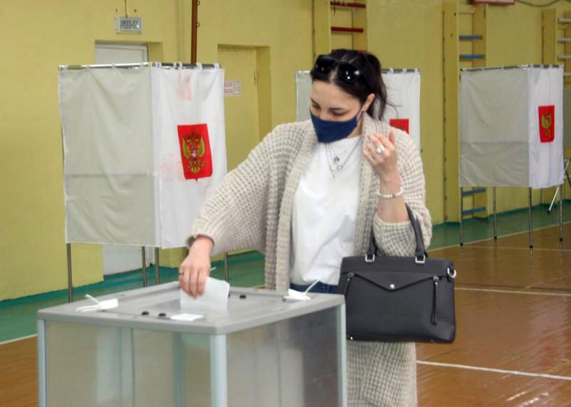 Выборы в Смоленской области. Явка на 12 часов