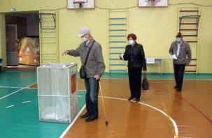 В каких районах Смоленской области аномально высокая явка на выборы