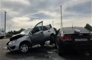Подробности страшной аварии на окружной Смоленска