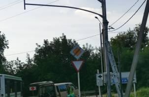 На выезде из Сортировки устанавливают светофор