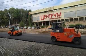 Как осуществляется ремонт по улице Николаева в Смоленске
