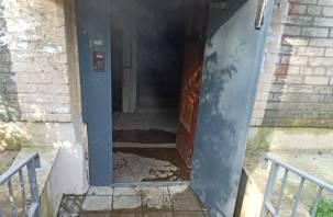 В Смоленске кипятком залило подъезд жилого дома