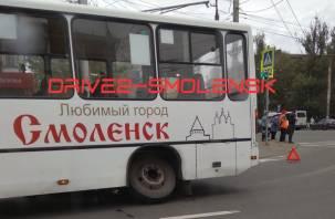 «Колеса потерял». Поломка автобуса в Смоленске парализовала движение транспорта