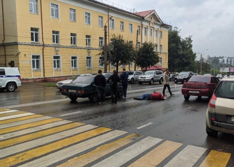 Подробности ДТП с пешеходом на Дзержинского в Смоленске