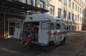 В Смоленской области мотоциклист сбил женщину, бросил ее на дороге и уехал