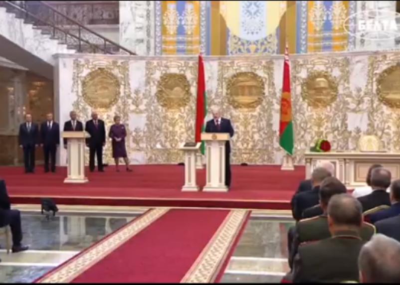 Лукашенко назвал тайную инаугурацию «днем победы»