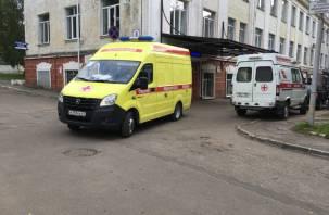 В Вяземском районе автоледи вылетела на Ниссане в кювет и оказалась в больнице