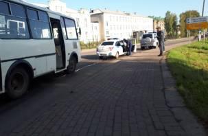 В Рославле рейсовый автобус сбил подростка