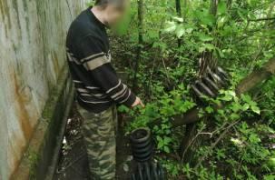 Рославльчанин вырыл лаз на территорию вагоноремонтного завода и выносил запчасти