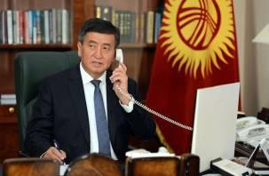 Нашелся. Стало известно местонахождение президента Киргизии