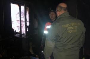 8-летняя девочка заживо сгорела в квартире в Кирове