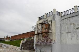 В Смоленске на набережной появится граффити князя Потемкина