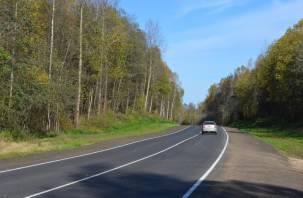 В Смоленской области завершается ремонт дороги, соединяющей четыре района