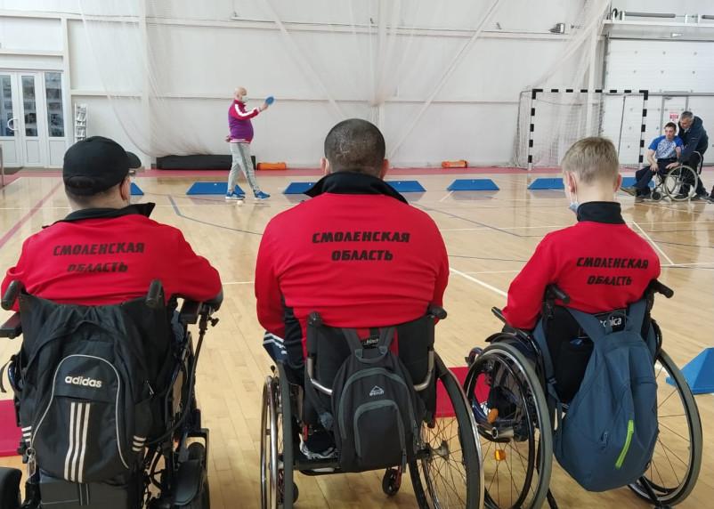Смоленские спортсмены сразились в чемпионате России по бочча
