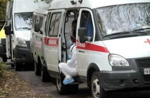 90 процентов коек для коронавирусных больных в России уже заняты