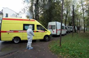 Беглов доложил Путину о ситуации с коронавирусом в Санкт-Петербурге