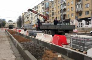 В Смоленске отложили запуск трамваев по улице Николаева