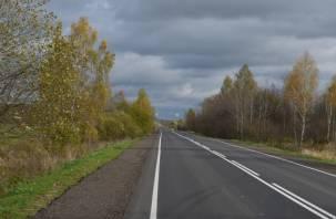 В Хиславичском районе завершается ремонт дороги