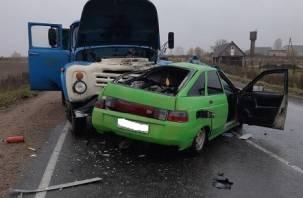 Скончался в карете «скорой». 25-летний парень погиб в аварии в Хиславичском районе
