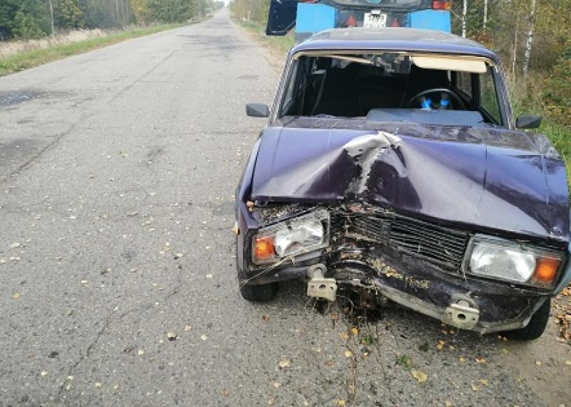 В результате ДТП в Смоленской области пострадал мужчина