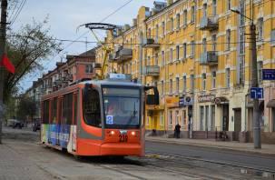 В Смоленске по улице Николаева трамваи будут ехать без остановок