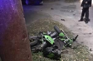 Ребенок за рулем мотоцикла погиб в ДТП в Нижегородской области