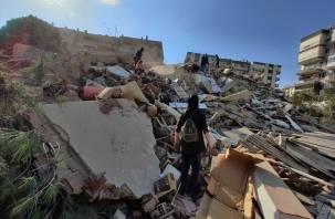 Стали известны первые данные о жертвах землетрясения в Турции