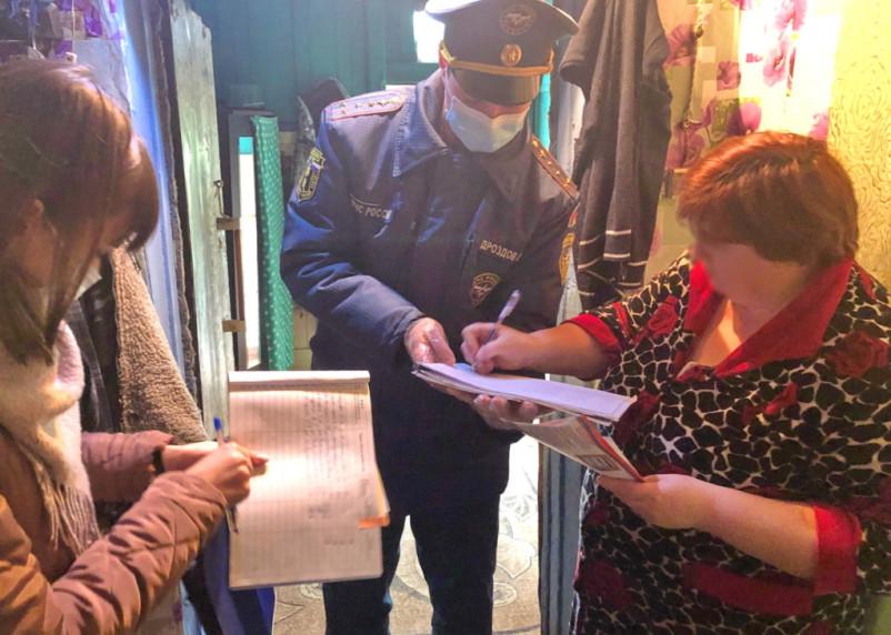 В Смоленской области в частных домах бесплатно установили пожарные извещатели