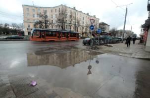 Три дня до приемки: реконструкция улицы Николаева рискует стать очередным смоленским долгостроем