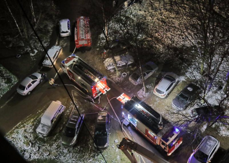 Двое человек погибли при пожаре в Смоленской области