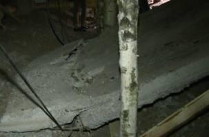 В Смоленска из-за угрозы обрушения жилого дома ввели режим повышенной готовности