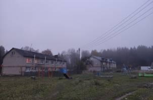 Строители Смоленского зоопарка оставили без отопления жителей деревни Мощинки