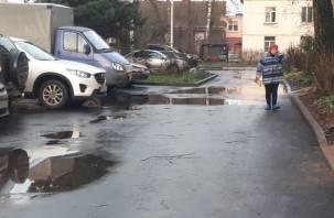 В ОНФ раскритиковали благоустройство дворов в Смоленске